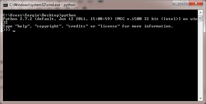 Add Python to the PATH Environmental Variable ('python' is