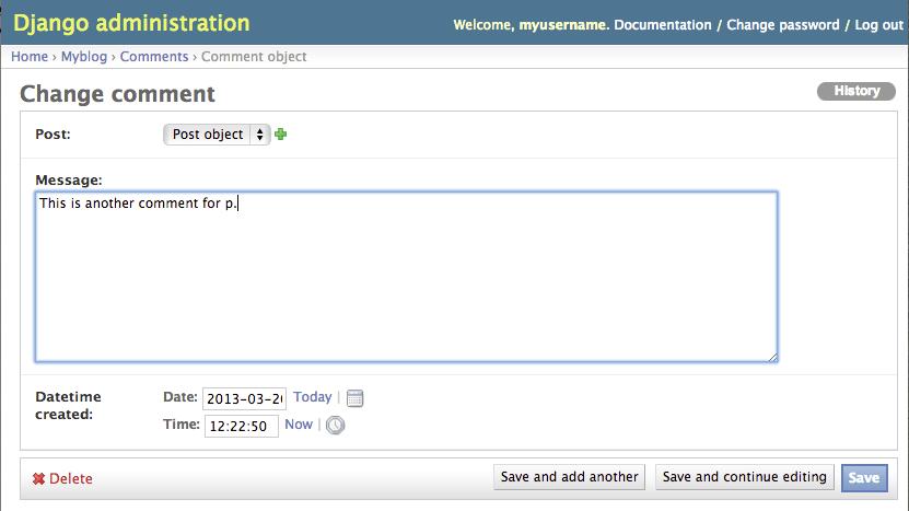 Activate Admin Application for Your Python Django Website