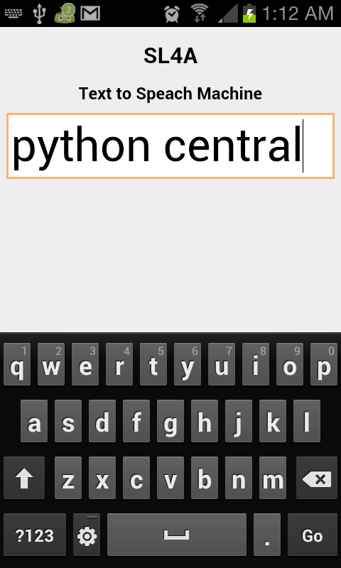 Python for Android: Using Webviews (SL4A) | Python Central