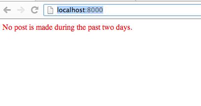Django Static File Example Screenshot