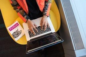 python coding on a macbook